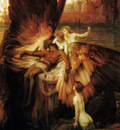 Draper Herbert James Mourning for Icarus