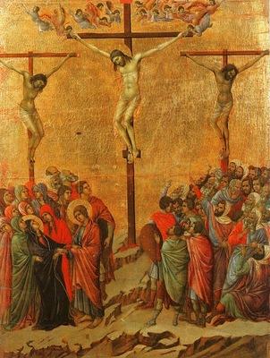 Duccio Crucifixion, Museo dellOpera del Duomo, Siena
