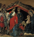 Duccio The Maesta Altarpiece, detail from the predella featu