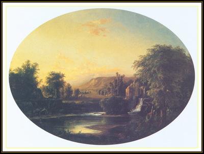 DuncansonRobertS LandscapewithWaterfall We