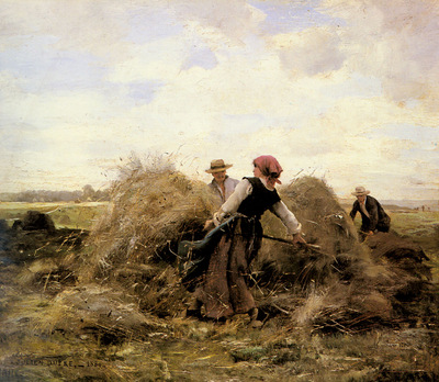 Dupre Julien The Harvesters