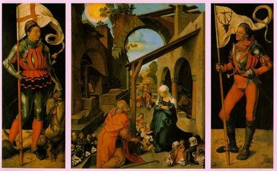 DURER THE PAUMGARTNER ALTARPIECE,1498 1504, ALTE PINAKOTHEK,