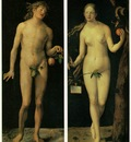 DURER ADAM AND EVE,1507, PRADO