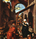 DURER NATIVITY PAUMGARTNER ALTARPIECE, CENTRAL PANEL ,1504,