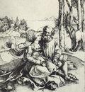 DURER IMPORTUNING,1490 95, ENGRAVING