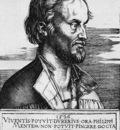 DURER PORTRAIT OF PHILIP MELANCHTHON,1526