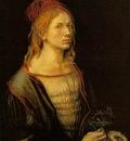 DURER SELF PORTRAIT AT 22,1493, LOUVRE
