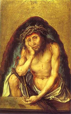 Albrecht Durer Christ as the Man of Sorrow