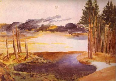 Albrecht Durer Pond in the Woods