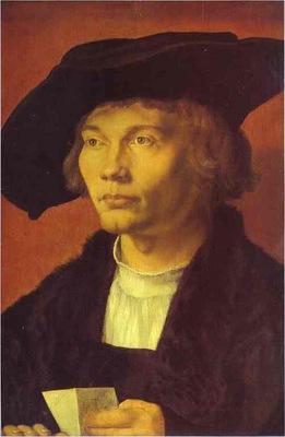 Albrecht Durer Portrait of Bernard von Reesen