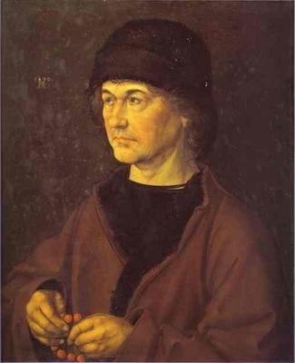 Albrecht Durer Portrait of Durers Father