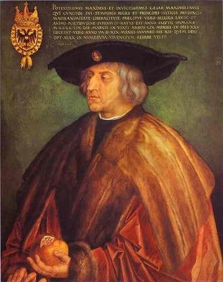 Albrecht Durer Portrait of Maximilian I