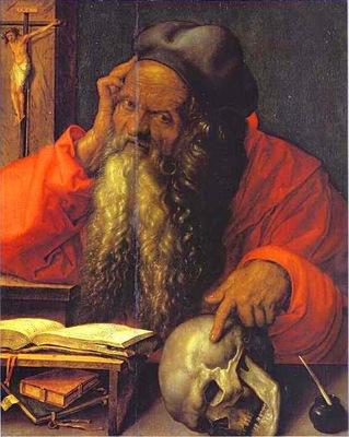 Albrecht Durer St  Jerome