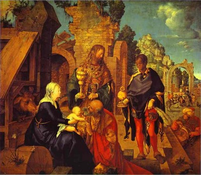 Albrecht Durer The Adoration of the Magi
