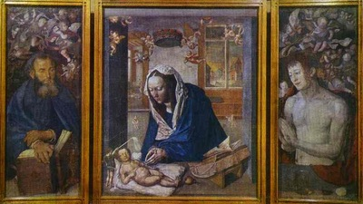 Albrecht Durer The Dresden Altar