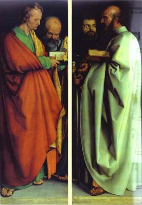 Albrecht Durer The Four Holy Men