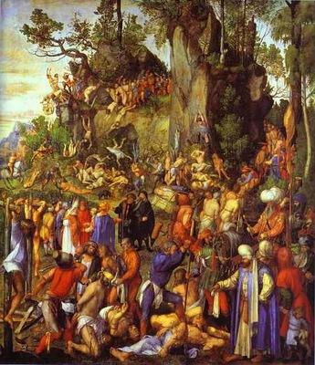 Albrecht Durer The Martyrdom of the Ten Thousand