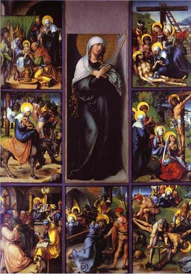 Albrecht Durer The Seven Sorrows of the Virgin