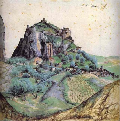 Albrecht Durer View of Arco