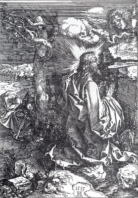 Durer Agony In The Garden Etching