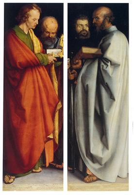 Durer Albrecht Four Apostles