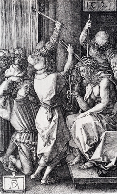 Durer Christ Crowned With Thorns