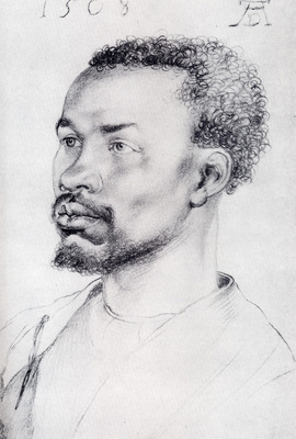 Durer Head Of A Negro