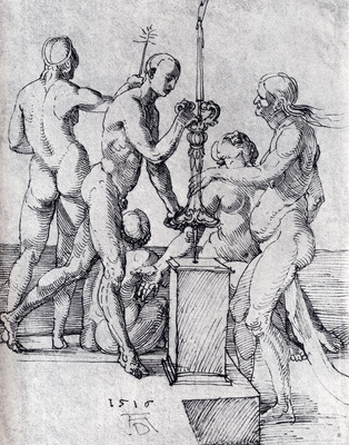 Durer Male Female Nudes