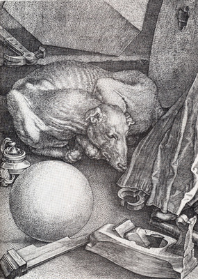 Durer Melencolia I Detail