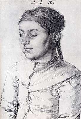 Durer Portrait Of A Girl