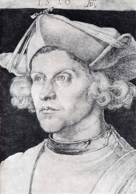 Durer Portrait Of An Unknown Man