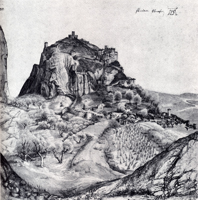 Durer The Citadel Of Arco In The South Tyrol