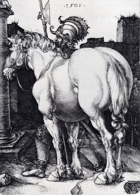 Durer The Large Horse