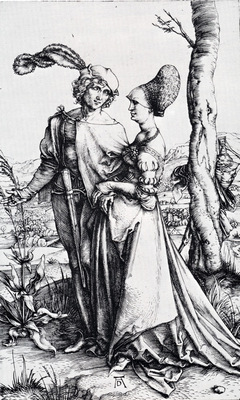 Durer Young Couple Threatened By Death