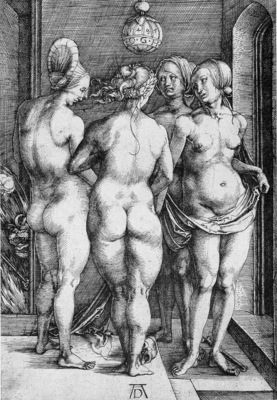 The Four Witches Judgment of Paris WGA