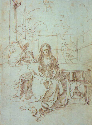 The Holy Family in a Trellis CGF