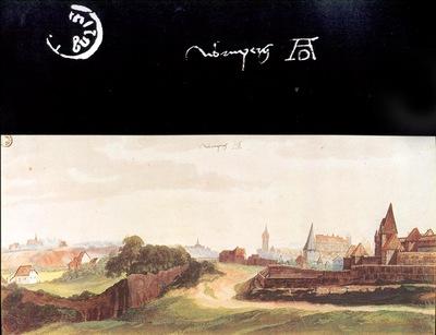 ls Durero 08 Vista de Nuremberg