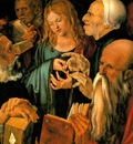 DURER CHRIST AMONG THE DOCTORS,1506, FUNDACION COLECCION THY