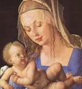 DURER MADONNA WITH CUT PEAR,1512, KUNSTHISTORISCHES MUSEUM,