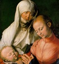 DURER ST ANNE WITH THE VIRGIN AND CHILD,1519, METROPOLITAN M