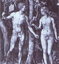 Albrecht Durer Adam and Eve