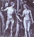 Albrecht Durer Adam and Eve