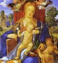 Albrecht Durer Madonna with a Siskin