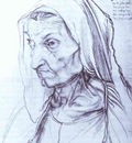 Albrecht Durer Portrait of Durers Mother