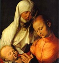 Albrecht Durer St  Anne with the Virgin and Child