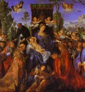 Albrecht Durer The Altarpiece of the Rose Garlands