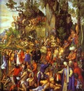 Albrecht Durer The Martyrdom of the Ten Thousand