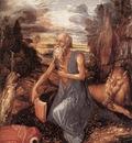 DURER Albrecht St Jerome in the Wilderness