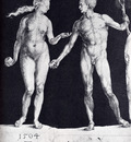Durer Idealistic Male And Female Figures