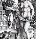 Durer The Temptation Of The Idler